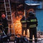 Vatra zahvatila garažu, krov, tavan, na sreću nema povređenih