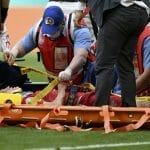NOVA TEŠKA POVREDA NA EP! Fudbaler Rusije na nosilima iznet sa terena zbog oštećenja na kičmi! DRAMA kod Zbornaja