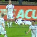 Navijači Borca staklenim flašama gađali fudbalere Kluža! UEFA na potezu