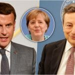 DOK ANGELA ODLAZI, NOVI DUET SE SPREMA NA SCENI EU...Makron i Dragi spremaju novi post Merkel savez?! Traže smeliju i bržu Uniju