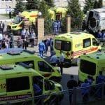 HOROR U RUSIJI Sekirom ubijene tri tinejdžerke: Ubica zapalio stan da sakrije zločin