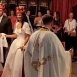 PRVI SNIMCI SVADBE Milica blistala, venčanica kao iz snova (VIDEO)