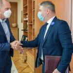 SASTANAK ŠERANIĆA I LONČARA Dogovoreno jačanje saradnje za uspešniju kontrolu nad koronavirusom