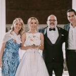 LUKSUZ I RASKOŠ! Donosimo vam ekskluzivne fotografije sa glamurozne svadbe Tonija Cetinskog, pevač nije štedeo za najbitniji dan u životu! (FOTO)
