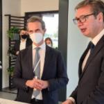 PROIZVODIĆE 50.000 TONA ČOKOLADE Predsednik Vučić na otvaranju fabrike Beri Kalebo u Novom Sadu
